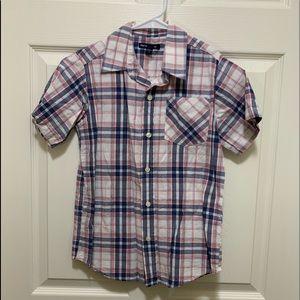 GapKids boys Small button down shirt.